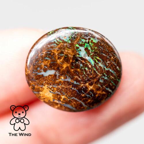 Natural Australian Boulder Opal Gorgeous Color & Pattern 8.81 ct