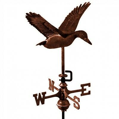 Flying Duck Bronze Finish Weathervane