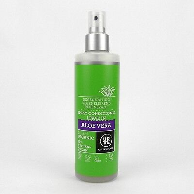 Spray Leave In Conditioner ((2,56/100ml) Urtekram Aloe Vera Leave in Conditioner Spray vegan 250 ml)