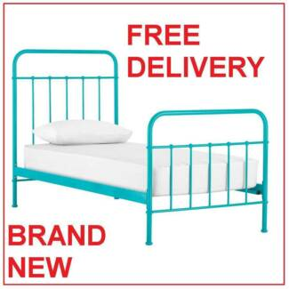 FREE Delivery Single SUNDAY Bed Frame - BRAND NEW. Vintage Style New Farm Brisbane North East Preview