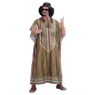 AFRIKANISCHER DIKTATOR TUNICA Karneval Afrikaner Terrorist Herren Kostüm XL - Diktator Kostüm