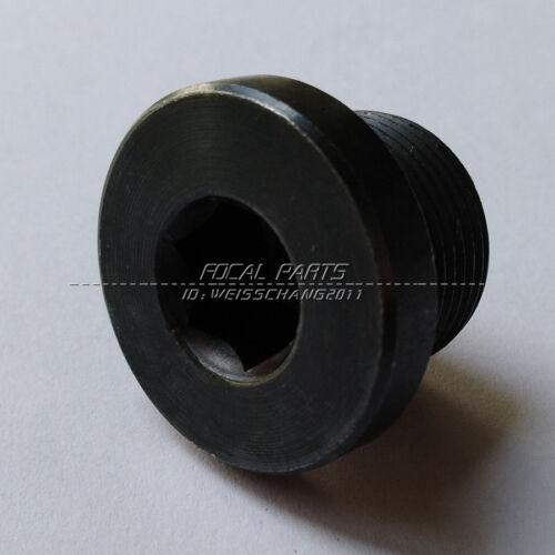 Metric Fitting M24X1.5 M24 Male Thread Allen Socket Flange Plug Steel -HW M503