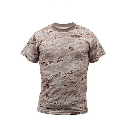 DESERT DIGITAL Camo T-Shirt MARPAT Camouflage US Marine Corps USMC SWAT XS-4X