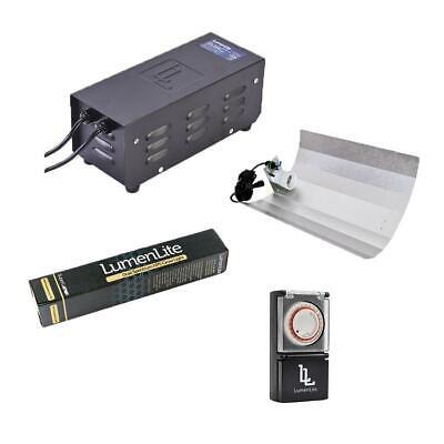 LumenLite Metal Magnetic 250w Grow Light Kit & HD Light Timer