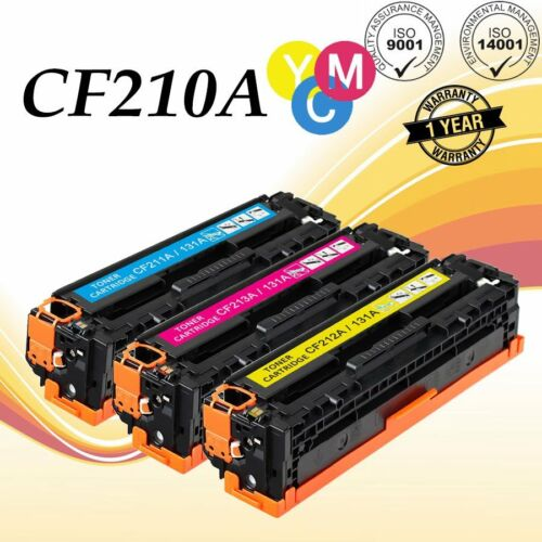 Compatible CF210A Toner 131A Lot for HP LaserJet Pro 200 Color MFP M251nw M276nw