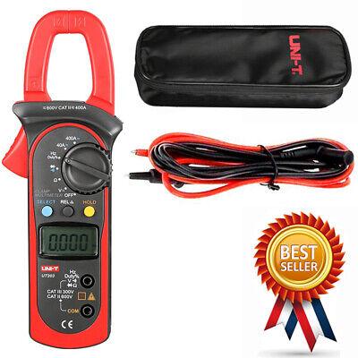 Uni-t Ut203 Digital Handheld Clamp Multimeter Tester Meter Dmm Amp Ce Ac Dc