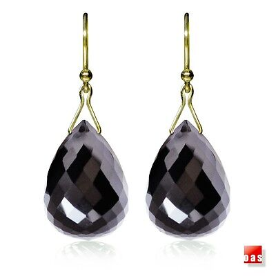 (Solid 14k 18k Gold Black