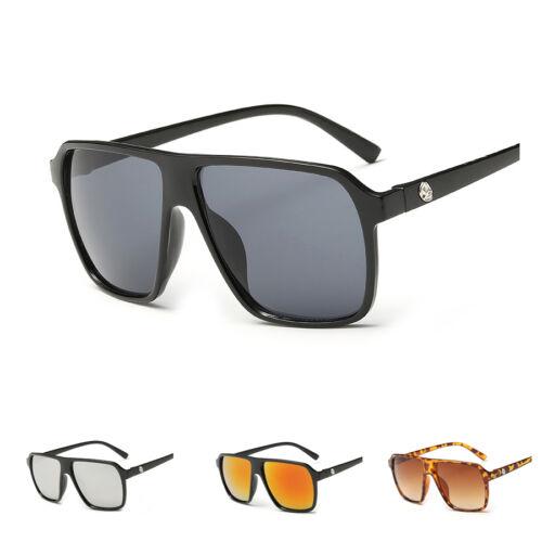 Herren Sonnenbrille Sportlich Schmal Sport Brillen Brille Verspiegelt pilot