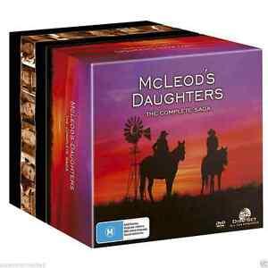 McLeod's Daughters Complete Saga Series 1 2 3 4 5 6 7 8 (52 Disc)  NEW DVD BOX