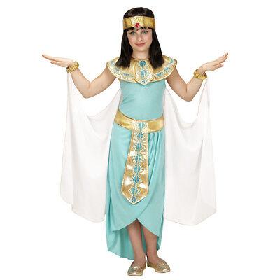 KINDER CLEOPATRA KOSTÜM Karneval Ägypter Pharaonin Kleopatra Mädchen Kleid 4943