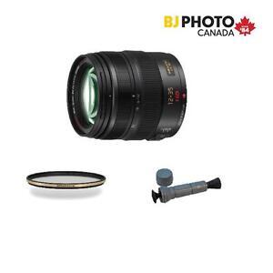 Panasonic Lumix 12-35mm f2.8 OIS G X VARIO, Micro 4/3 Lens, German Schott Glass Filter, LensMate