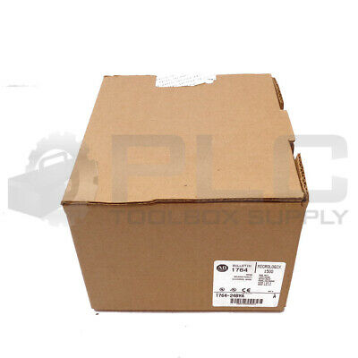 New Sealed Box Allen Bradley 1764-24bwa A Micrologix 1500 Base Unit 24vdc