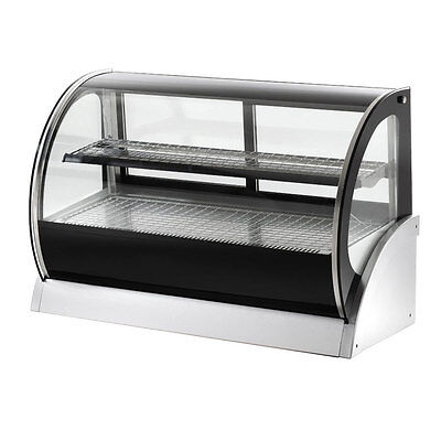 Vollrath 40853 48 Refrigerated Countertop Curved Glass Display Case