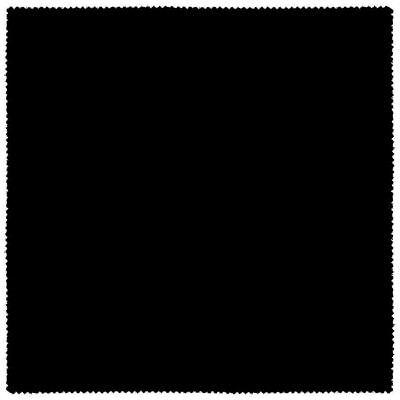 Premium Solid Black Futon Cover by Prestige