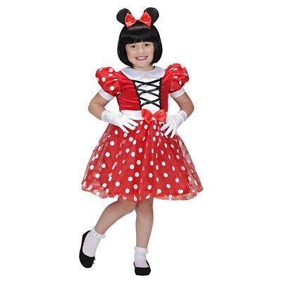 MAUS KOSTÜM KINDER Karneval Fasching Party Tier Kleid Mädchen Haarreif  # 0152