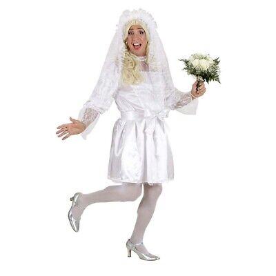 DRAG QUEEN BRAUT KOSTÜM Karneval Hochzeit Männer Herren Travestie JGA Kleid - Braut Kostüm Männer