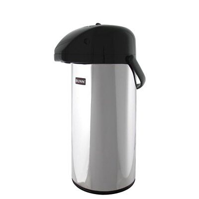 Bunn 13041.0001 Coffee Airpot Push Button 2.5 Liter 84oz