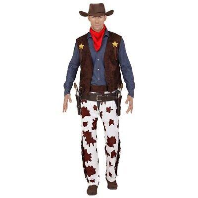 HERREN COWBOYKOSTÜM # Karneval Männer Cowboy Kostüm Weste Chaps Hut Bandana -