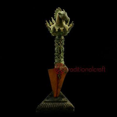 "15.25"" Handmade Iron Buddhist Ritual  Dagger Phruba"