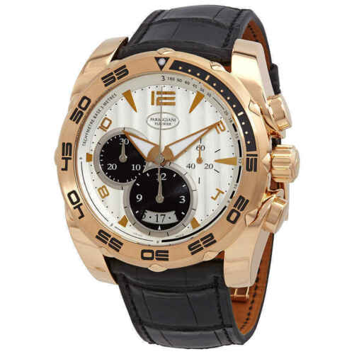 Parmigiani Fleurier Pershing 005 Men's 18k Rose Gold Watch PFC528-1010100-HA1442 - watch picture 1