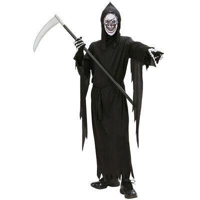 KINDER SENSENMANN KOSTÜM & MASKE Halloween Jungen Geister - Reaper Kostüme Maske