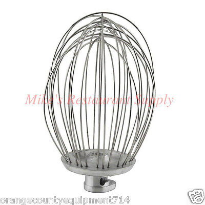 New 60 Qt Whip Wire Whisk Beater For Hobart Mixer 1249 Stainless Steel Uniworld