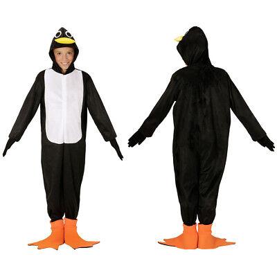 KINDER PINGUIN KOSTÜM # Karneval Jungen Mädchen Tier Vogel Zoo Verkleidung 0865