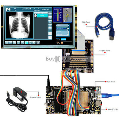 8051 Microcontroller Development Board Kit Usb Programmer For 9tft Lcd Module