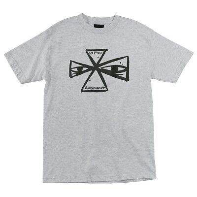 Independent Trucks INDY PATCH Skateboard Shirt WHITE XL
