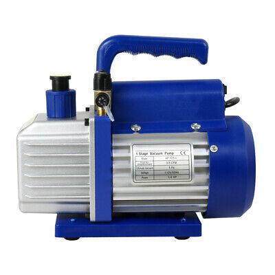 3,5CFM 1/4hp Air Vacuum Pump HVAC Refrigeration AC Manifold Gauge for Home