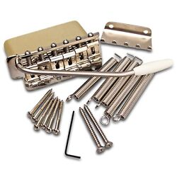 Specialty Guitars Exclusive: Callaham Pre-CBS Strat Bridge Assembly Brass Block