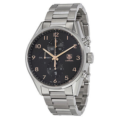 Tag Heuer Carrera Stainless Steel Mens Watch CAR2014.BA0799