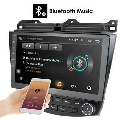 10.1'' HD Android 9.1 Car Stereo Radio GPS WIFI 3G 4G For Honda Accord 2003-2007