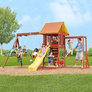 Large outdoor playground Devon Park Port Adelaide Area Preview