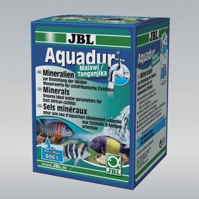 JBL Aquadur Malawi Tanganyika 250g lake mineral salts increase GH kH cichlid