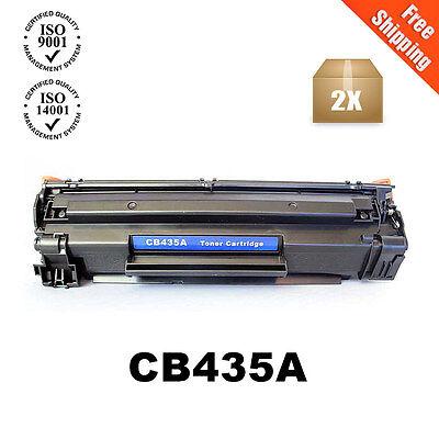 2 Pack CB435A 35A Toner Fits HP LaserJet P1005 (Fits Hp Laserjet)