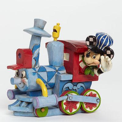 JIm Shore Disney All Aboard the Birthday Train Mickey Mouse Casey Jr 4043654