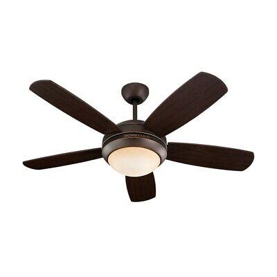 Monte Carlo Fan Company 44' Discus II Fan - Roman Bronze - (Roman Bronze Discus)