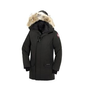 BRAND NEW WITH TAGS - Mens Canada Goose Langford Parka Padded Down Black Winter Jacket – SIZE LARGE