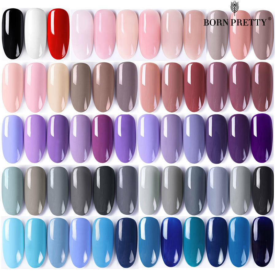 BORN PRETTY UV LED Gel Nail Polish Top Base Coat  Long Lasti