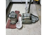 Hiretech HT8-1 Drum Floor Sander & HT-7 Hiretech Edging Sander 240v