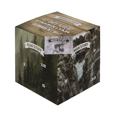 Technic Man'Stuff 12 Days Advent Calendar Toiletries Gift for Him Man Boys Xmas ()