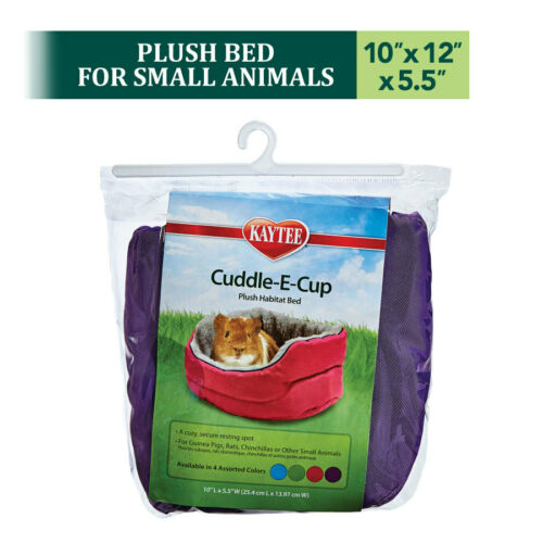Kaytee Super Sleeper Cuddle-E-Cup W/ Poly-Bag  Asst Colors