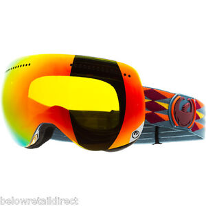 DRAGON-APX-SNOW-SKI-GOGGLE-RED-MOUNTAINS-RED-IONIZED-BRAND-NEW-IN-RETAIL-BOX