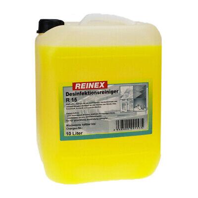 Reinex R 15 Desinfektionsreiniger 10 Liter Kanister