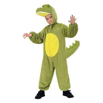 ÜM # Karneval Aligator Kinder Plüsch Tier Zoo Kostüm 134 9769 (Krokodil Kostüm Kinder)
