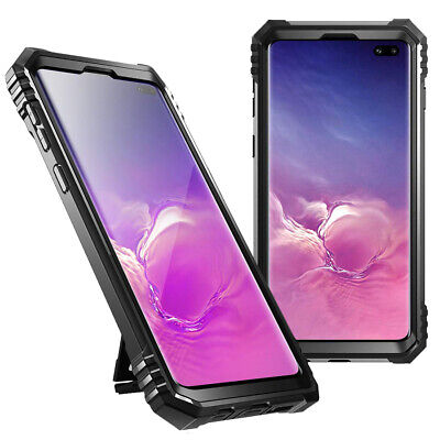 Galaxy S10 Plus Case,Poetic Military Grade Full Body Shockproof Cover Black comprar usado  Enviando para Brazil