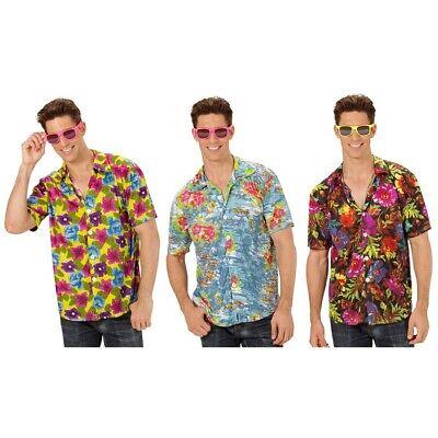 HERREN BLUMEN HAWAIIHEMD # Hawaii Blüten Shirt Hemd Kostüm Karibik Südsee - Karibik Party Kostüm