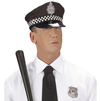 ZE # Karneval Cop Polizist Mütze Hut Kostüm Party Deko 3327 (Cop Kostüm Hut)