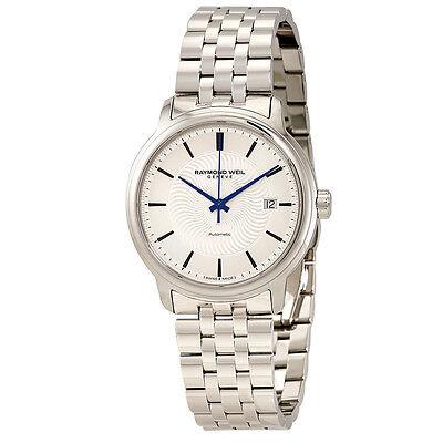 Raymond Weil Maestro Automatic Silver Dial Mens Watch 2237-ST-65001